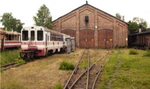 KROSNIEWICE ENGINE SHEDS rear 2009855