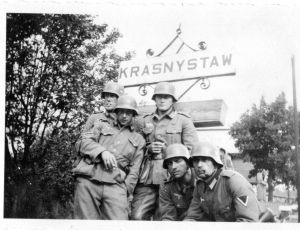 Krasnysaw - German Troops 524