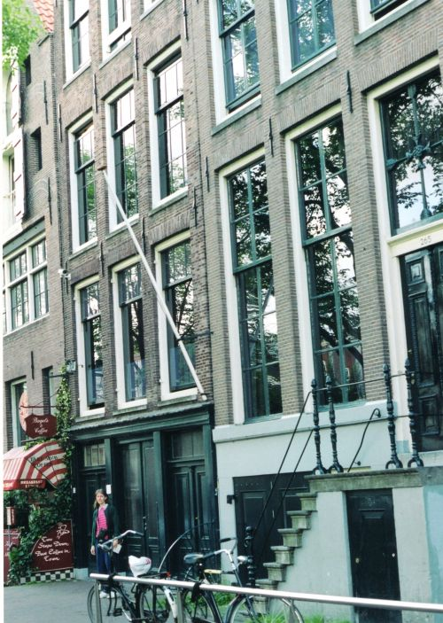anne frank house Amsterdam in 2003