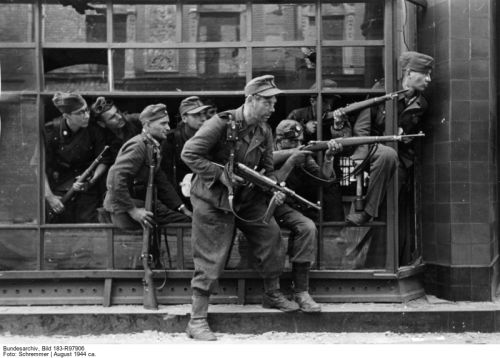 dIRLEWANGER TROOPS IN WARSAW 1944