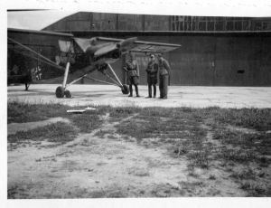 lublin airfield -fiesler storch456